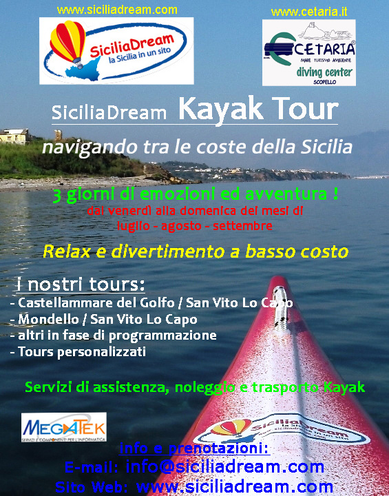 SiciliaDream Kayak Tour 2013