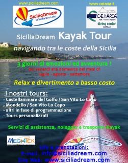 SiciliaDream Kayak Tour